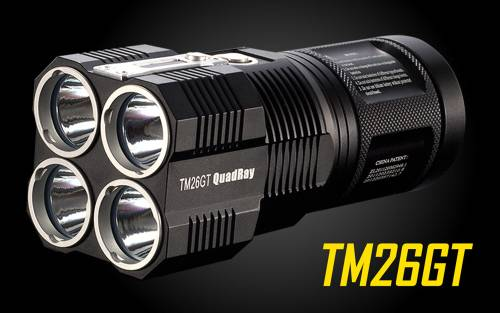 NiteCore TM26GT Tiny Monster Cree XP-L Flashlight -3500 Lumens