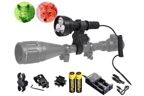 Orion M30C 700 Lumens Hunting Light Kit, Green or Red