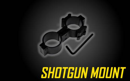 Shotgun Mount for 1 inch Tactical Flashlights