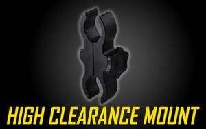 "High Clearance 1""-30mm Scope Mount for Tactical Flashlights"