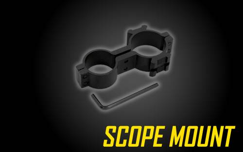 Scope Mount for Tactical Flashlights