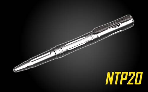 NITECORE NTP20 Titanium Tactical Pen with Tungsten Tip