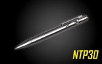 NITECORE NTP30 Titanium Bidirectional Bolt Action Tactical Pen