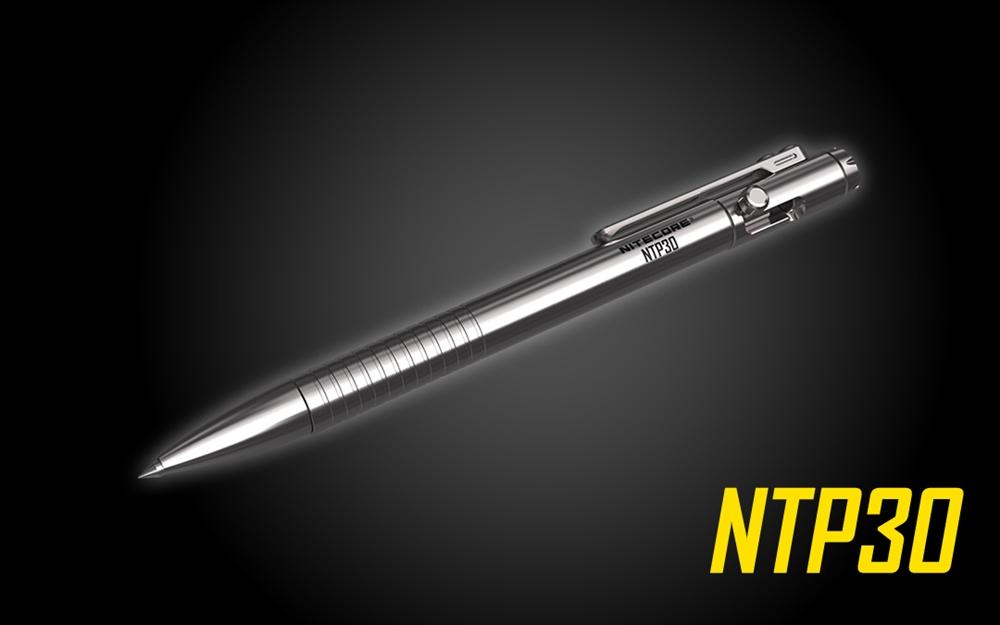 Nitecore Ntp30 Titanium Bolt Action Tactical Pen