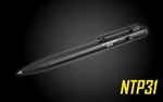 NITECORE NTP31 Bolt Action Tactical Pen with Tungsten Steel Glass Breaker
