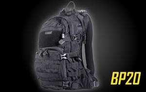 Nitecore BP20 Multi-Purpose All-Weather MOLLE Compatible Backpack with Packable Rain Cover