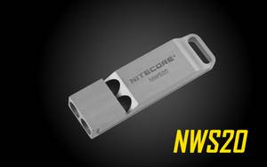 Nitecore NSW20 Emergency Whistle