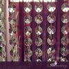 4' Acrylic crystal octagon shaped garland