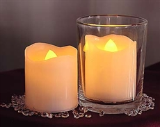 Battery melted votives