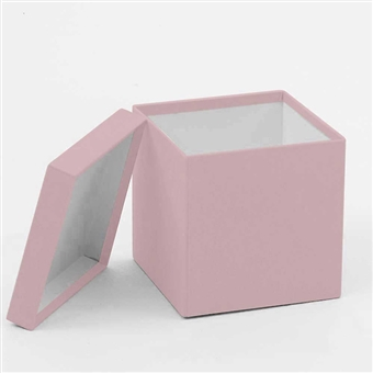 Square hat box