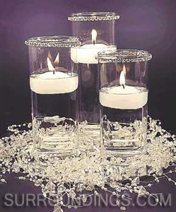 "2"" Round floating candles"