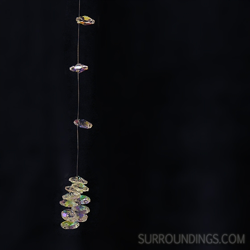 Iridescent Crystal Garland