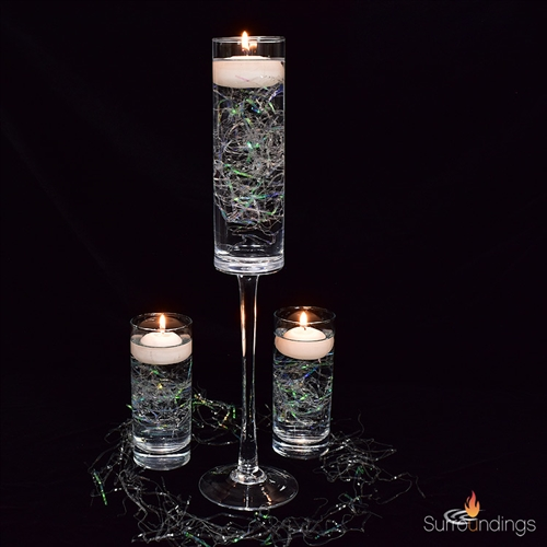 Willow Shine floating candle Centerpiece kit