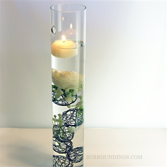 Spheres for Flowers in Tall Sconce CPK