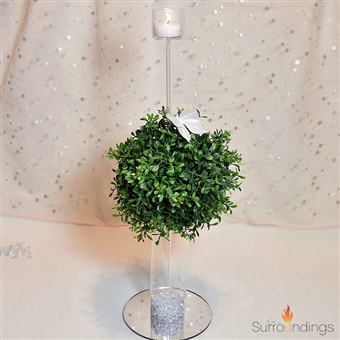 Dome orb and pic centerpiece