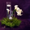 Fern and Calla Floating Candle Centerpiece Kit