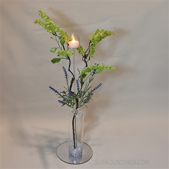 Dome, Pic & Lavender Centerpiece Kit