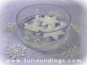 Large Snowflake centerpiece