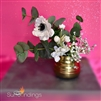 Anemone in Gold Pot Centerpiece Kit