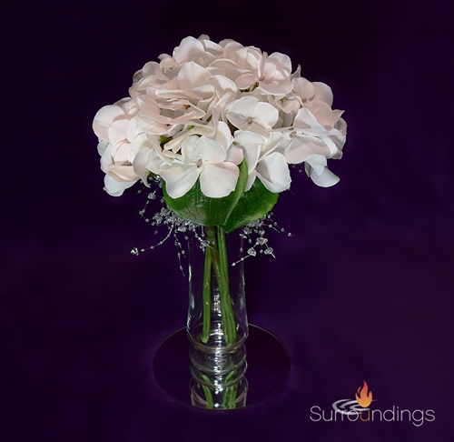 Hydrangea & Bead Garland Centerpiece kit