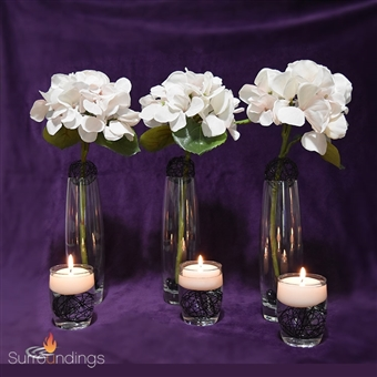 Trio Sphere & Lexi  & Flower Centerpiece Kit