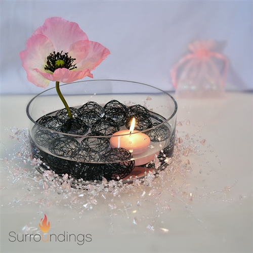 Poppy Sphere Floating Centerpiece Kit