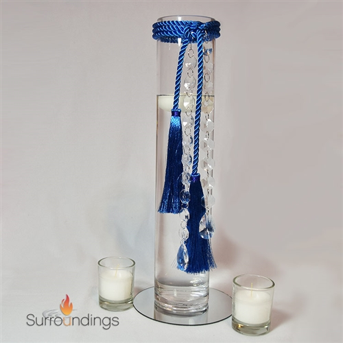Tassel & Crystal Drop Centerpiece