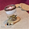 Pebbles & Wood Mini floating candle Centerpiece Kit