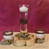 Pebble & Twine Natural Floating Candle Centerpiece Kit