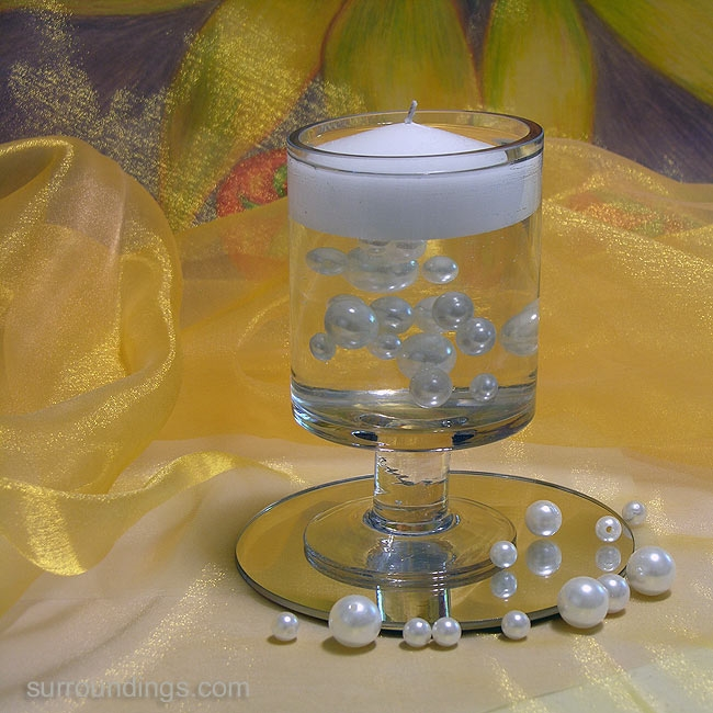 Floating Pearl Beads Amp Candle Cpk