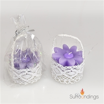 Lace Favor Baskets