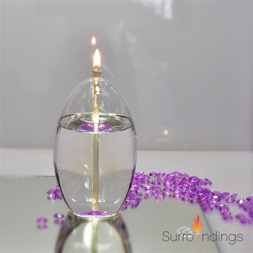 Everlasting Grace glass Oil Lamp