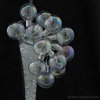 Iridescent Glass Ball pics, 1.5""