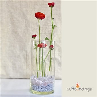 Glass Needle Bud Vase Set