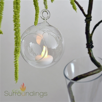mini glass  bubble vase