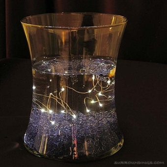 Submersible clear fairy lights