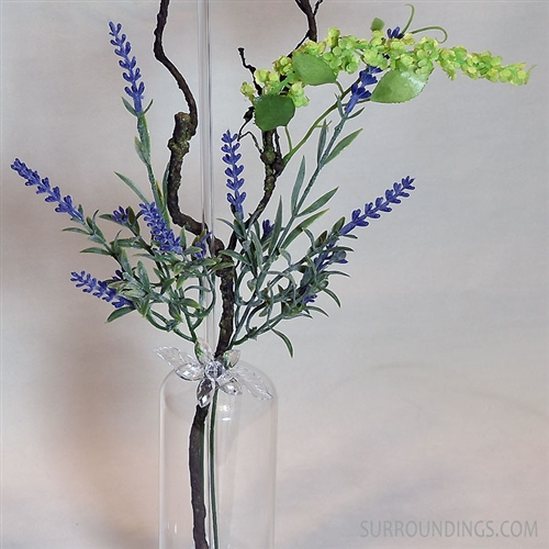 Artificial lavender stems, 14""