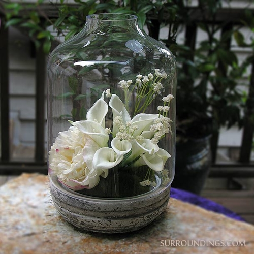 Glass & Ceramic Terrarium