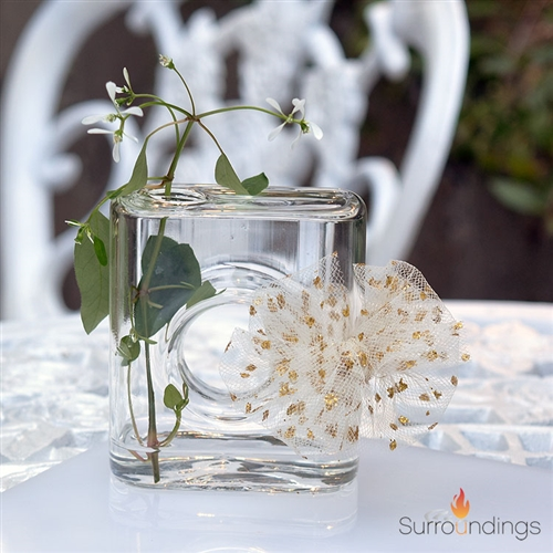 Surround Square Bud Vase