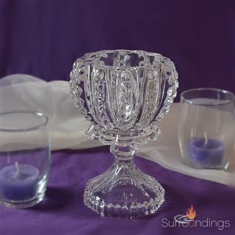 Glass Lace Vase