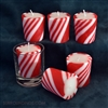 Candy Cane Votive Candles