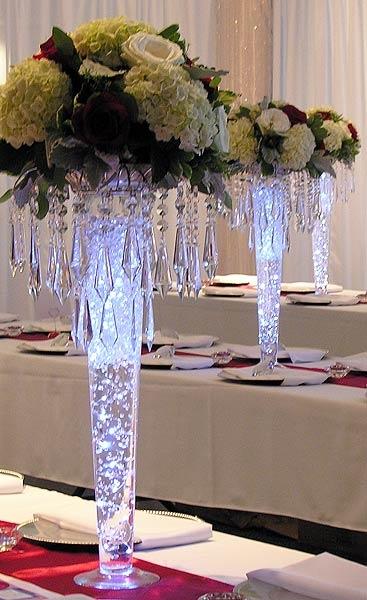 24 Quot Clear Glass Pilsner Vase