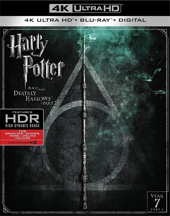 Harry Potter and the Deathly Hallows Part 2 2011 Multi BluRay 2160p HDR x265 DTS-X 7 1-DTOne | 28 GB |