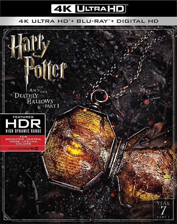 Harry Potter and the Deathly Hallows Part 1 2010 Multi BluRay 2160p HDR x265 DTS-X 7 1-DTOne | 23 GB |
