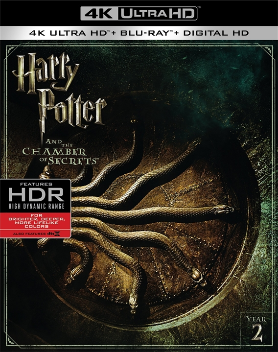 Harry Potter and the Chamber of Secrets 2002 Multi 2160p HDR x265 DTS-X 7.1-DTOne | 21 GB |