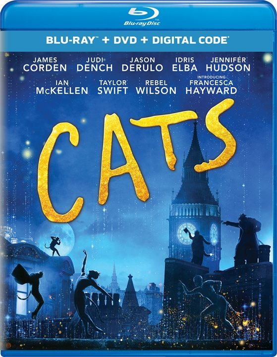 Cats (2019)(Blu-ray)(Region Free)