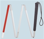 Harvy Four Section Folding Cane