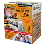 Emergency- One Month Food Pack