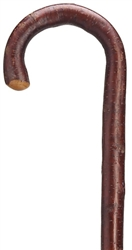 Ladies Cherry Wood Crook Cane