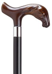Derby Mule Head Molded Cane